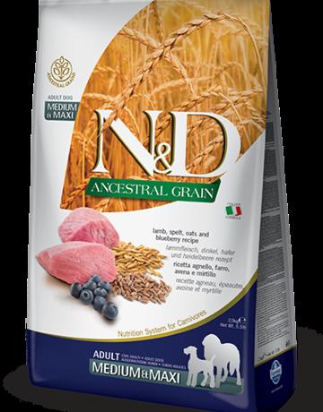 Farmina Canine Ancestral Grain Adult Lamb & Blueberry