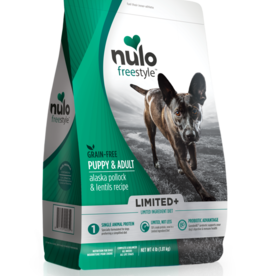 Nulo Grain-Free Limited+ Adult Pollock & Lentils