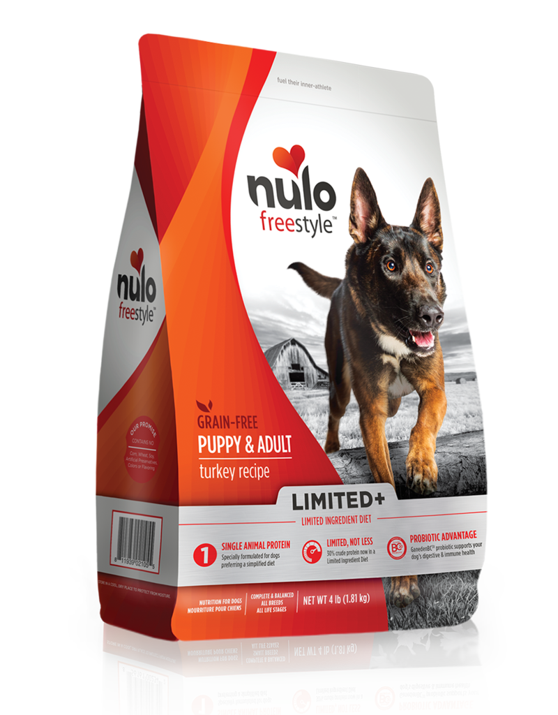 Nulo Canine Grain-Free Limited+ Adult Turkey