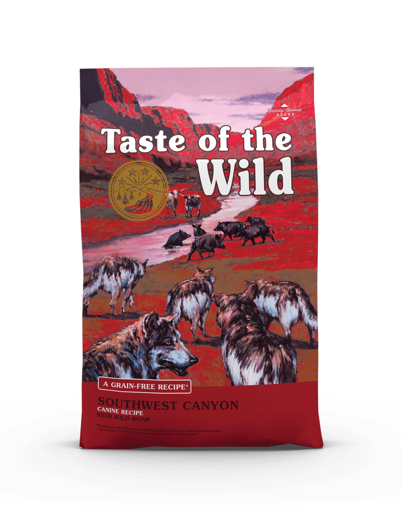 Taste of the Wild Pet Food Canine Grain-Free Adult Southwest Canyon Recipe