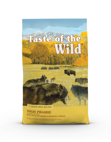 Taste of the Wild Pet Food Canine Grain-Free Adult High Prairie Recipe