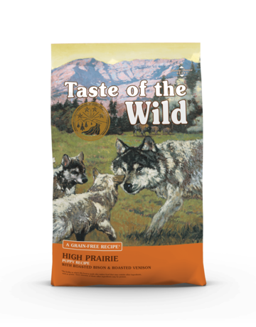 Taste of the Wild Pet Food Canine Grain-Free Puppy High Prairie Recipe