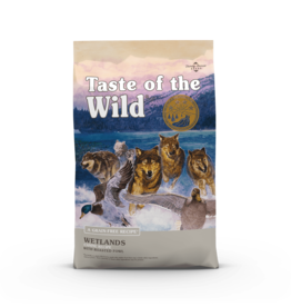 Taste of the Wild Pet Food Canine Grain-Free Adult Wetlands Recipe