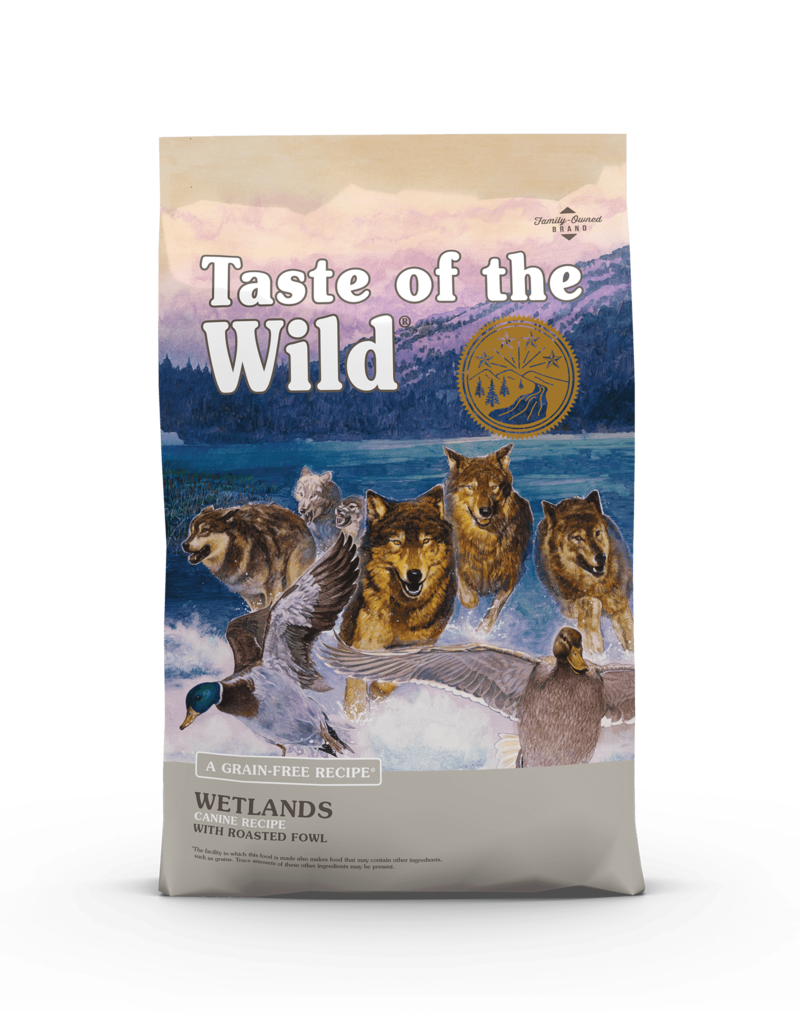 Taste of the Wild Pet Food Canine Grain-Free Adult Wetlands Recipe