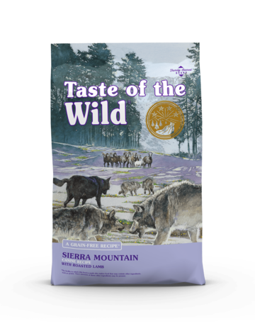 Taste of the Wild Pet Food Canine Grain-Free Adult Sierra Mountain