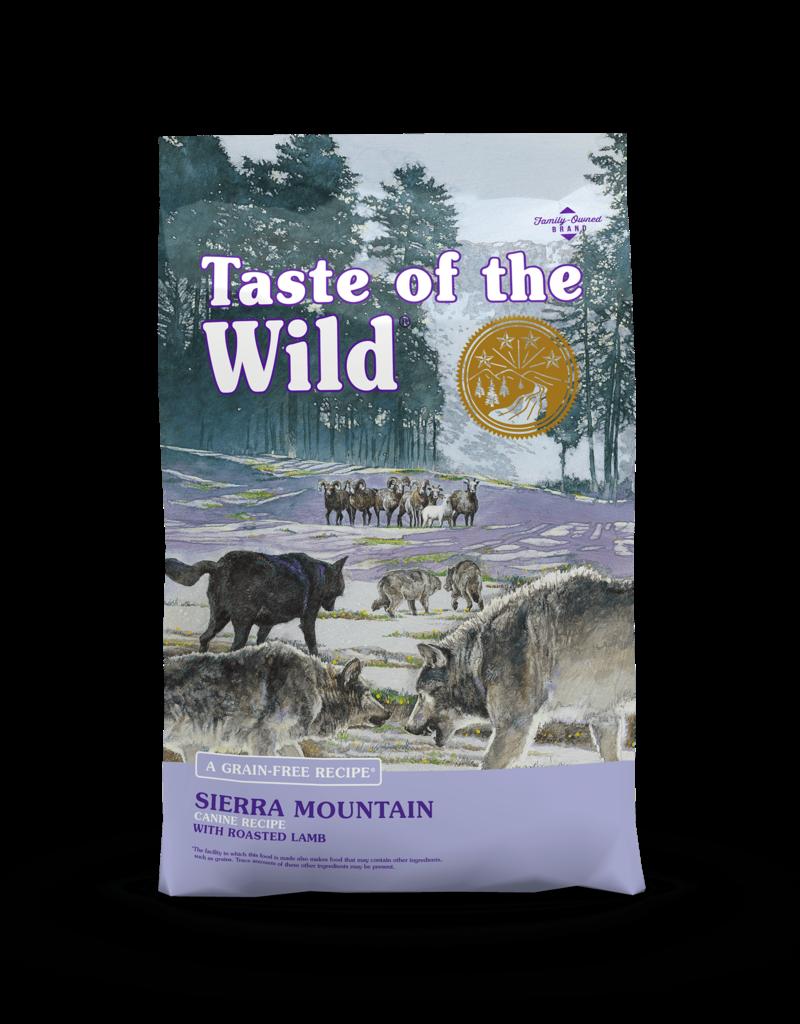 Taste of the Wild Pet Food Canine Grain-Free Adult Sierra Mountain