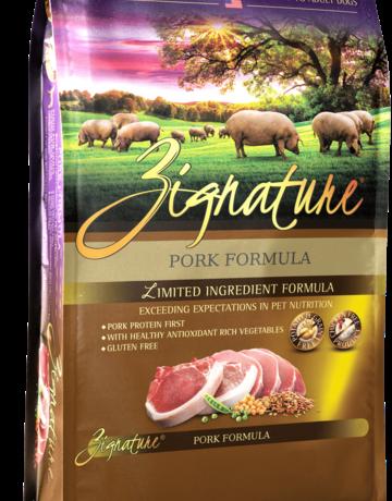 Zignature Canine Grain-Free Pork Formula