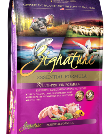 Zignature Canine Grain-Free Zssentials Formula