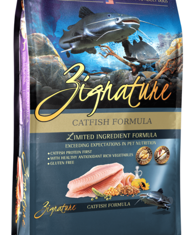 Zignature Canine Grain-Free Catfish Formula