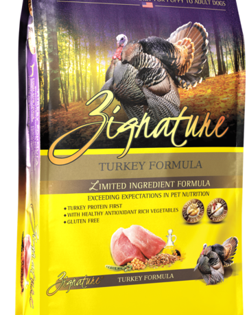 Zignature Canine Grain-Free Turkey Formula