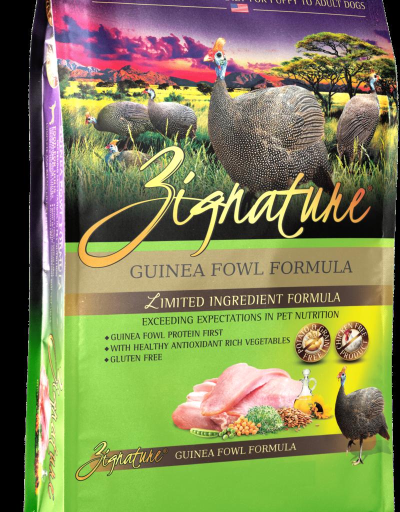 Zignature Canine Grain-Free Guinea Fowl Formula