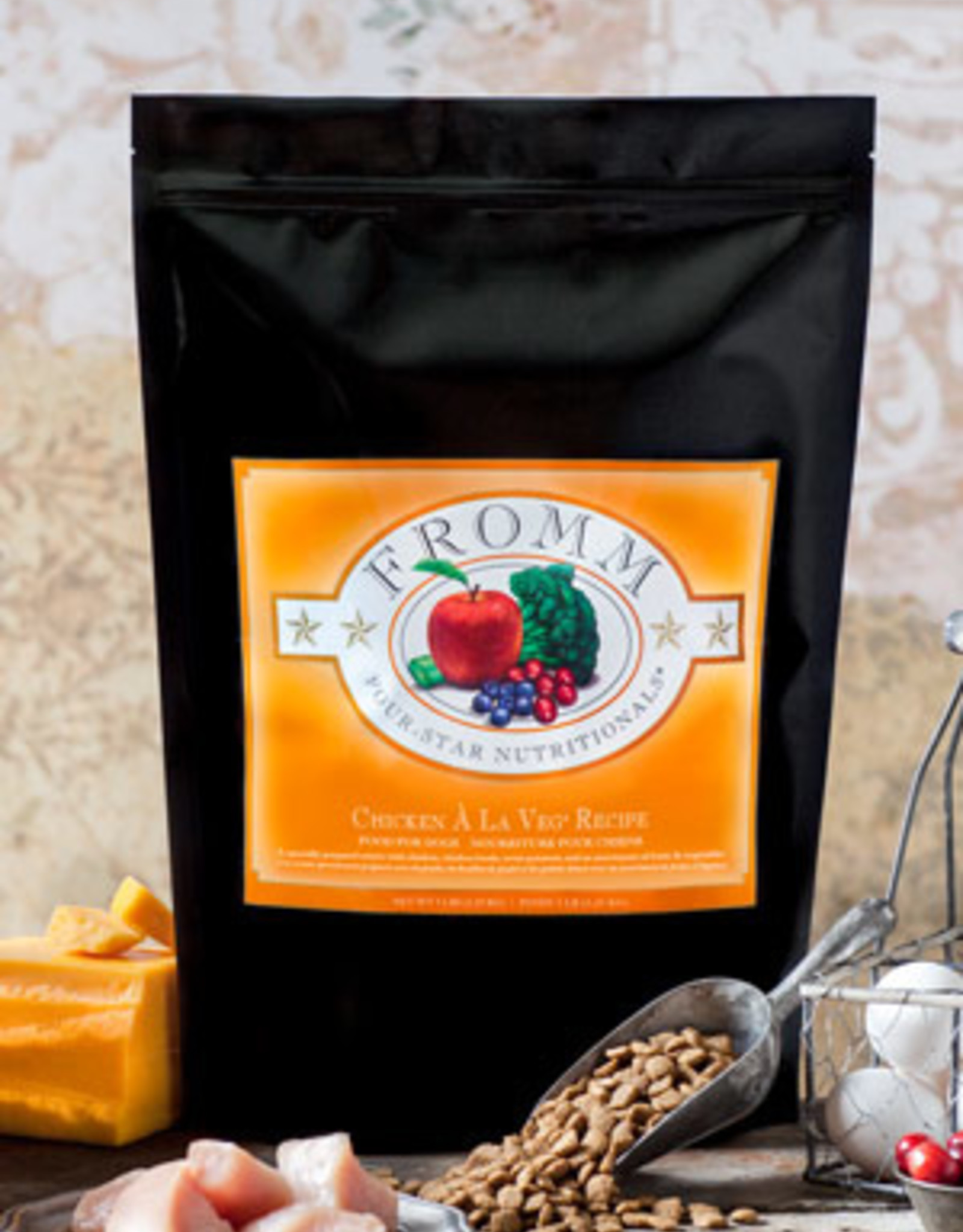 Fromm Family Pet Foods Whole Grain Chicken À La Veg® Recipe
