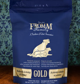 Fromm Family Pet Foods Whole Grain Reduced Activity & Senior Gold