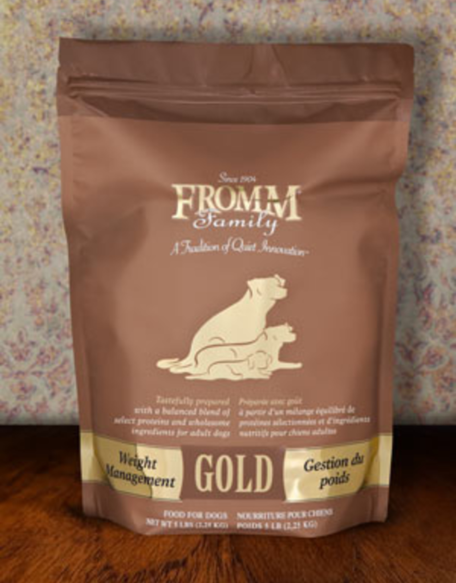 Fromm Family Pet Foods Whole Grain Weight Management Gold