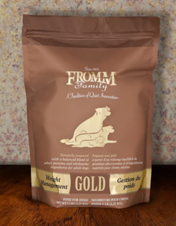 Fromm Family Pet Foods Canine Whole Grain Weight Management Gold