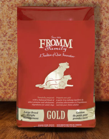 Fromm Family Pet Foods Canine Whole Grain Large Breed Weight Management Gold