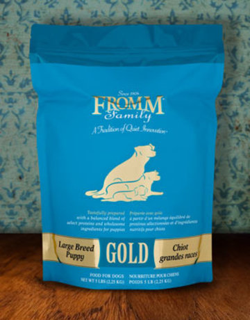 Fromm Family Pet Foods Canine Whole Grain Large Breed Puppy Gold