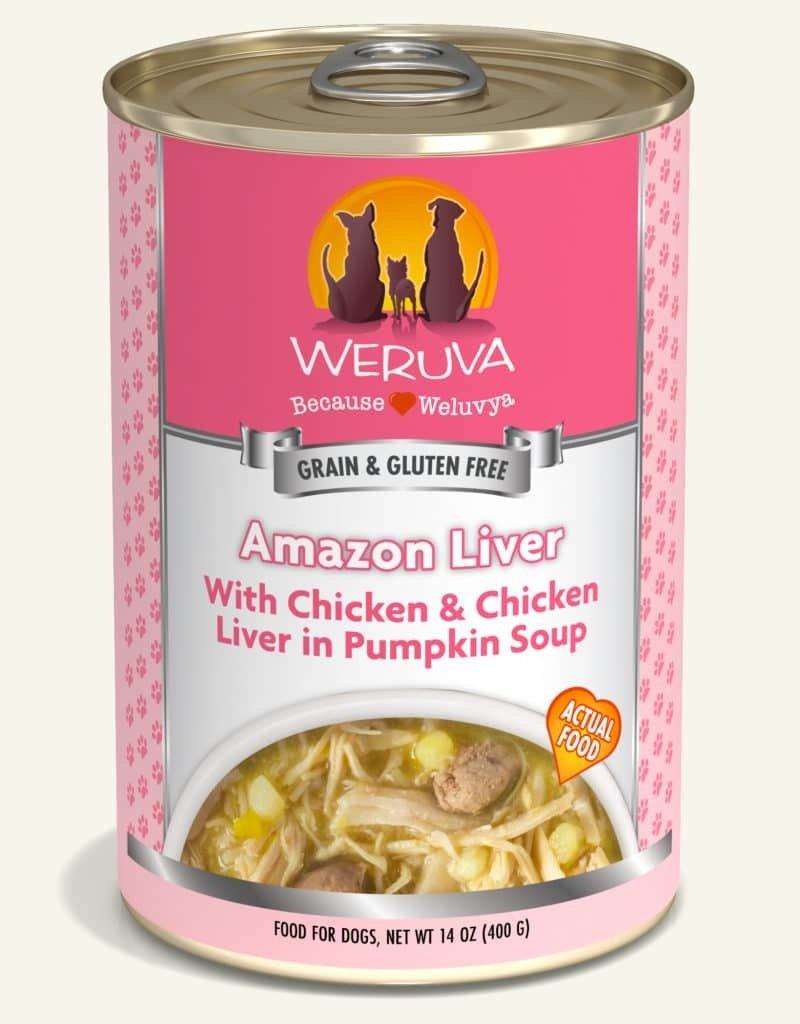 WERUVA Canine Grain-Free Amazon Liver