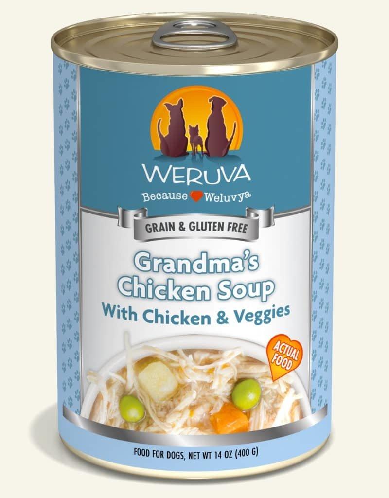 WERUVA Canine Grain-Free Grandma's Chicken Soup