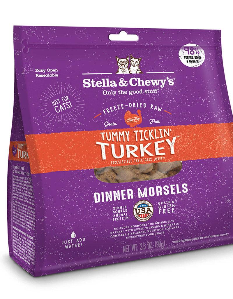 Stella & Chewy's Feline Tummy Ticklin' Turkey Freeze-Dried Dinner Morsels
