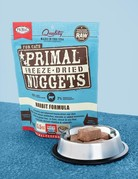 Primal Pet Foods Feline Freeze-Dried Rabbit Nuggets