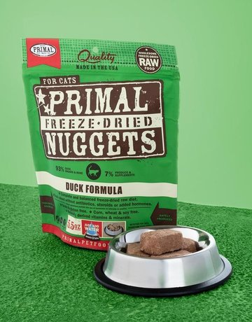 Primal Pet Foods Feline Freeze-Dried Duck Nuggets