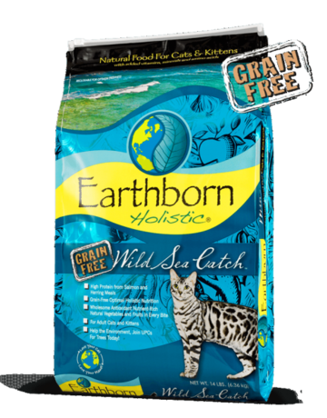 Earthborn Holistic Feline Grain-Free Wild Sea Catch