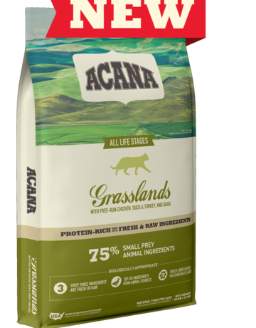 Acana Feline Grain-Free Grasslands Recipe
