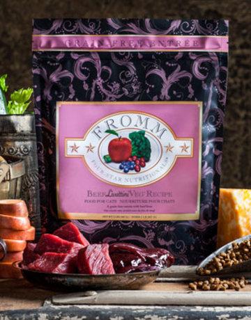 Fromm Family Pet Foods Feline Grain-Free Beef Liváttini Veg® Recipe
