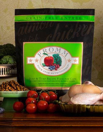 Fromm Family Pet Foods Feline Grain-Free Surf & Turf Recipe