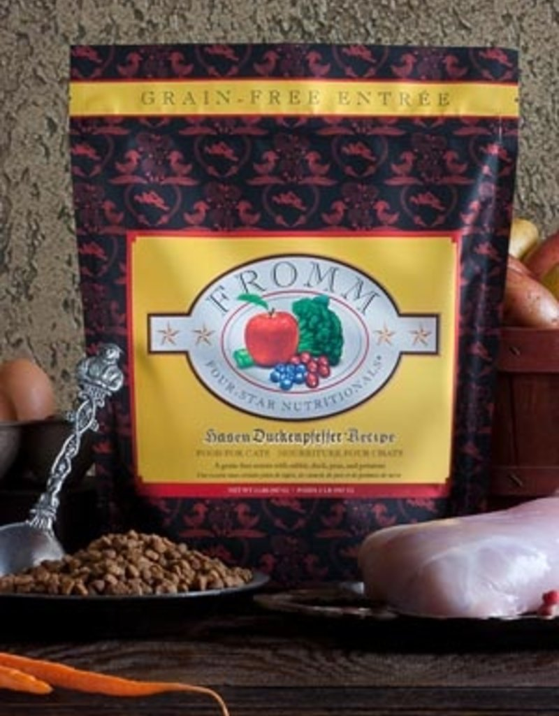 Fromm Family Pet Foods Feline Grain-Free Hasen Duckenpfeffer® Recipe