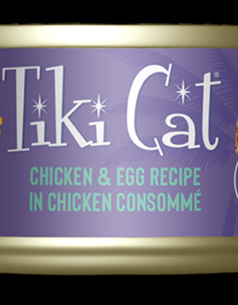 Tiki Pets Feline Grain-Free Chicken & Egg in Chicken Consomme