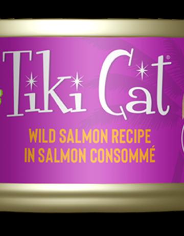 Tiki Pets Feline Grain-Free Wild Salmon in Salmon Consomme