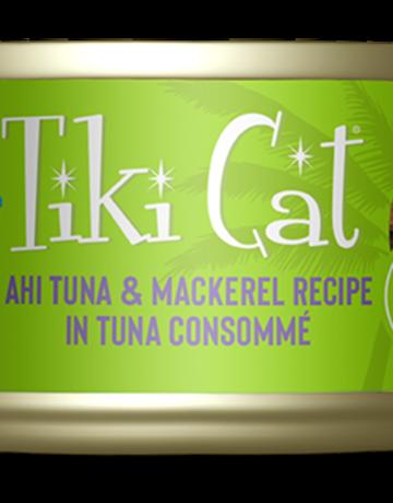 Tiki Pets Feline Grain-Free Ahi Tuna & Mackerel in Tuna Consomme