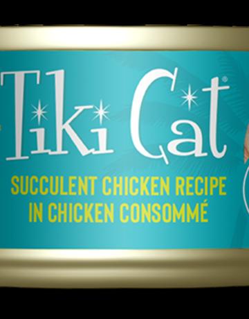 Tiki Pets Feline Grain-Free Succulent Chickenin Chicken Consomme