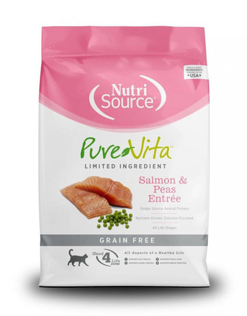 PureVita Feline Grain-Free Salmon & Peas Entrée