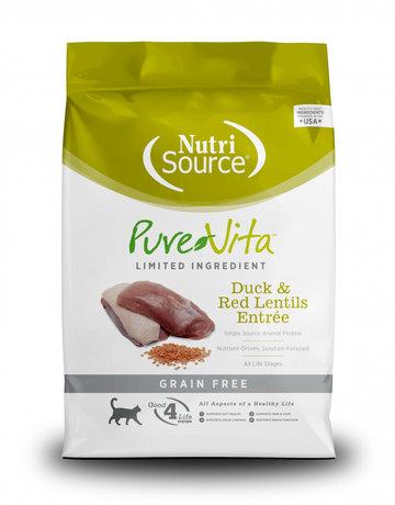 PureVita Feline Grain-Free Duck & Red Lentils Entrée
