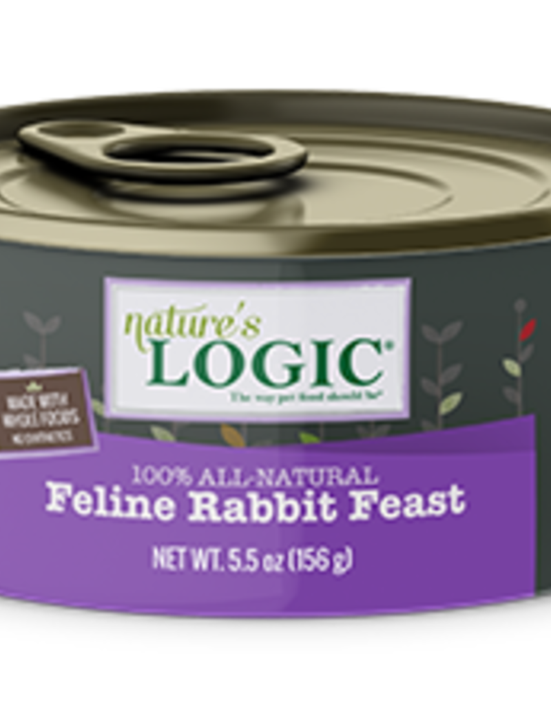 Natures Logic Feline Grain-Free Rabbit Feast