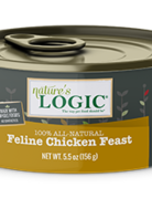 Natures Logic Feline Grain-Free Chicken Feast