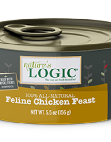 Natures Logic Feline Grain-Free Chicken Feast
