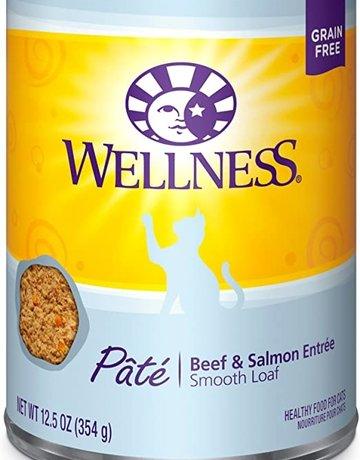 Wellness Pet Food Feline Grain-Free Beef & Salmon Dinner