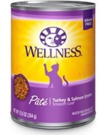 Wellness Pet Food Feline Grain-Free Turkey & Salmon Dinner