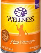 Wellness Pet Food Feline Grain-Free Chicken Dinner