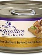 Wellness Pet Food Feline Grain-Free Signature Selects Chicken & Turkey