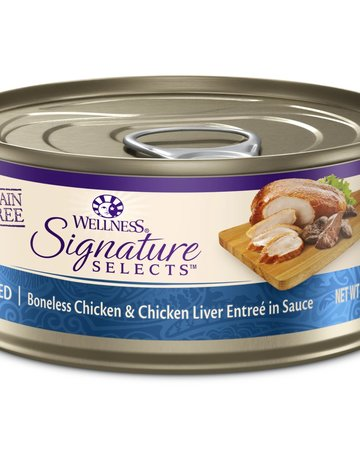 Wellness Pet Food Feline Grain-Free Signature Selects Chicken & Liver