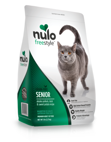 Nulo Feline Grain-Free Freestyle Senior Recipe
