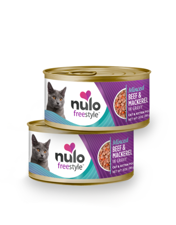 Nulo Feline Grain-Free Freestyle Minced Beef & Mackerel Recipe