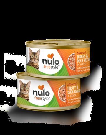 Nulo Feline Grain-Free Freestyle Minced Turkey & Duck Recipe