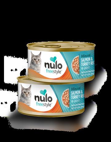 Nulo Feline Grain-Free Freestyle Minced Salmon & Turkey Recipe