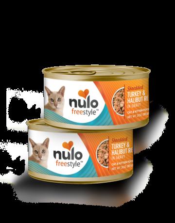 Nulo Feline Grain-Free Freestyle Shredded Turkey & Halibut Recipe